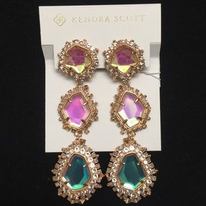 Kendra Scott Aria 14K Rose Gold Plated Earrings